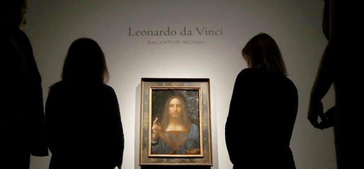 """Arte, e Christie's, Da Record! """"Salvator Mundi"""", opera di Leonardo Da Vinci, venduta a più di €450 milioni"""