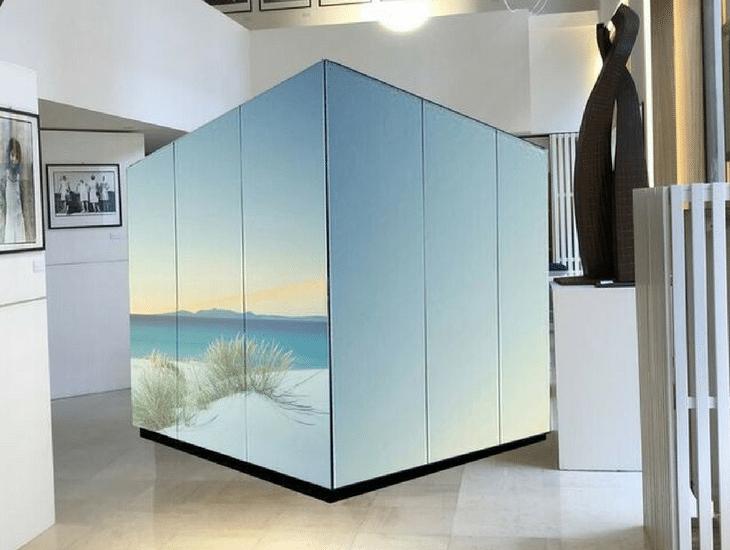 Box JS Art Glass House