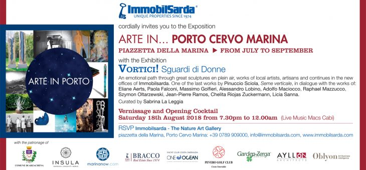 ARTE IN… PORTO CERVO MARINA – 18 August Inaugration Cocktail