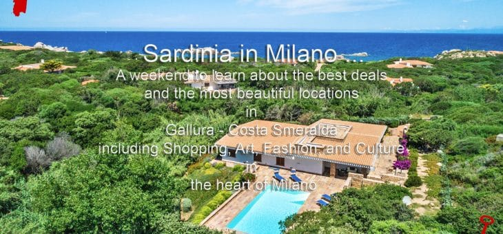 Sardinia in Milano Open House Weekend