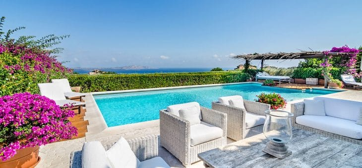 Interiors & Villas: the Costa Smeralda Style