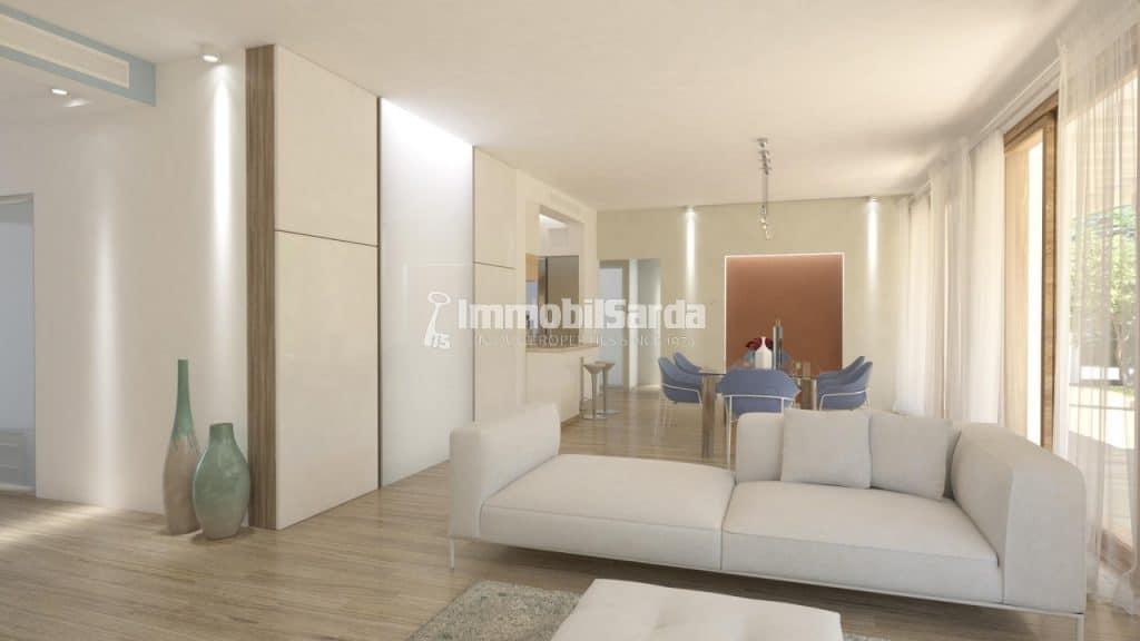 Villetta under construction - (3 bedrooms, 20 minutes by car from the Puntaldìa Golf Club, 684.000 €)