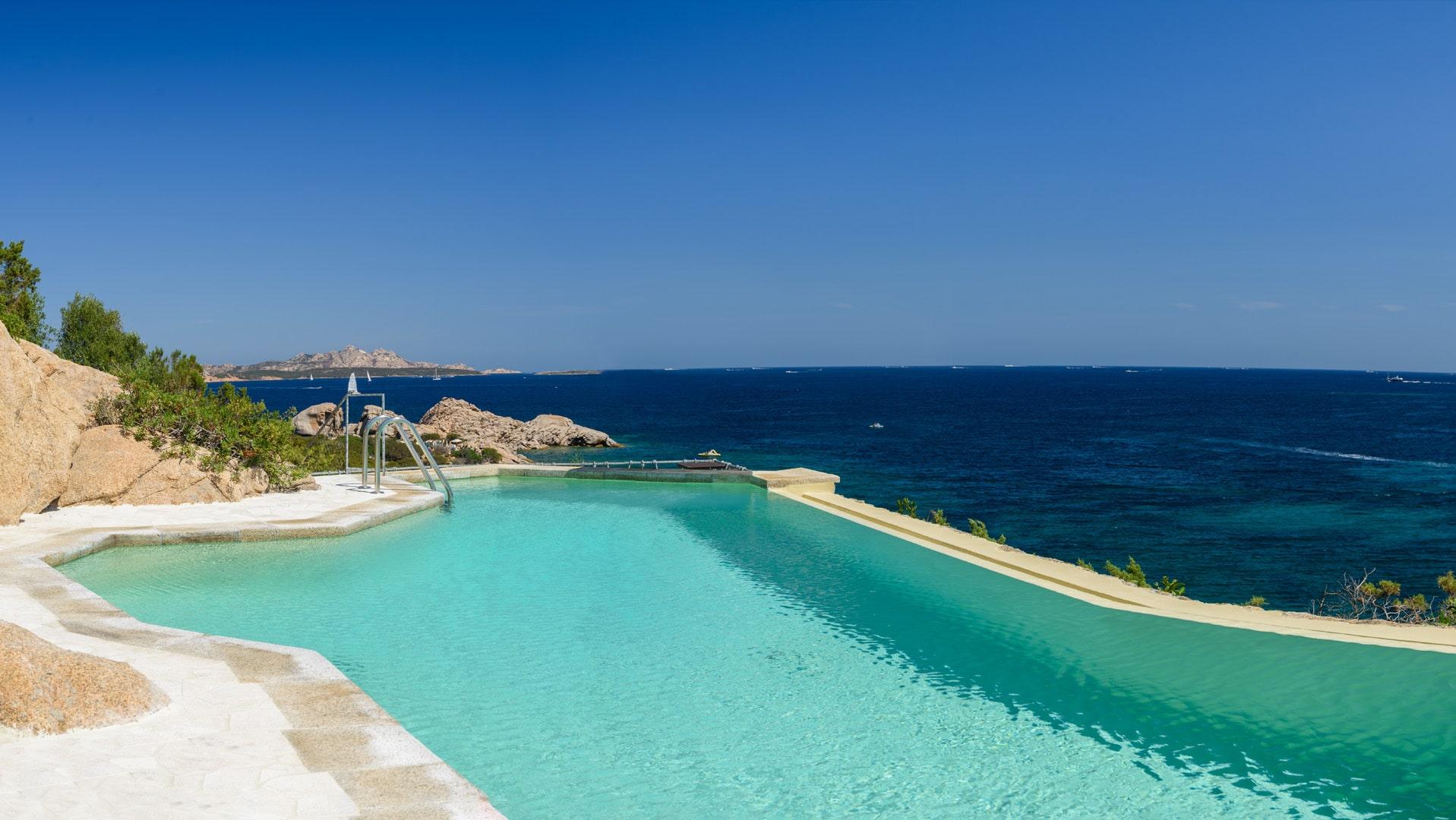Villa fronte mare Costa Smeralda