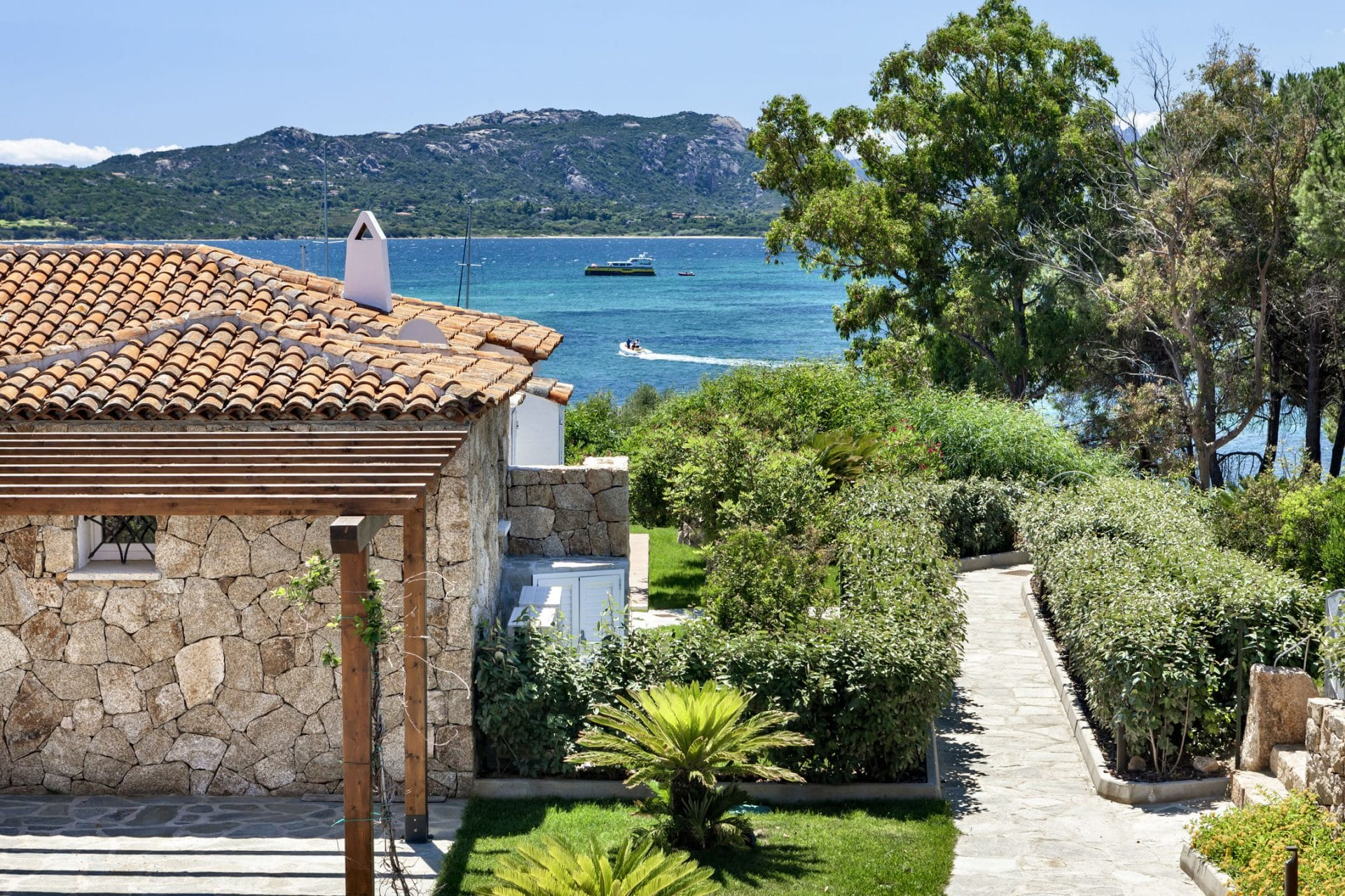 Seafront villa in Costa Smeralda
