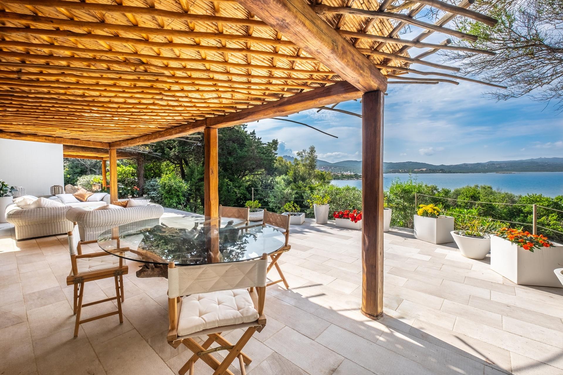 Seafront villa in Porto Rotondo