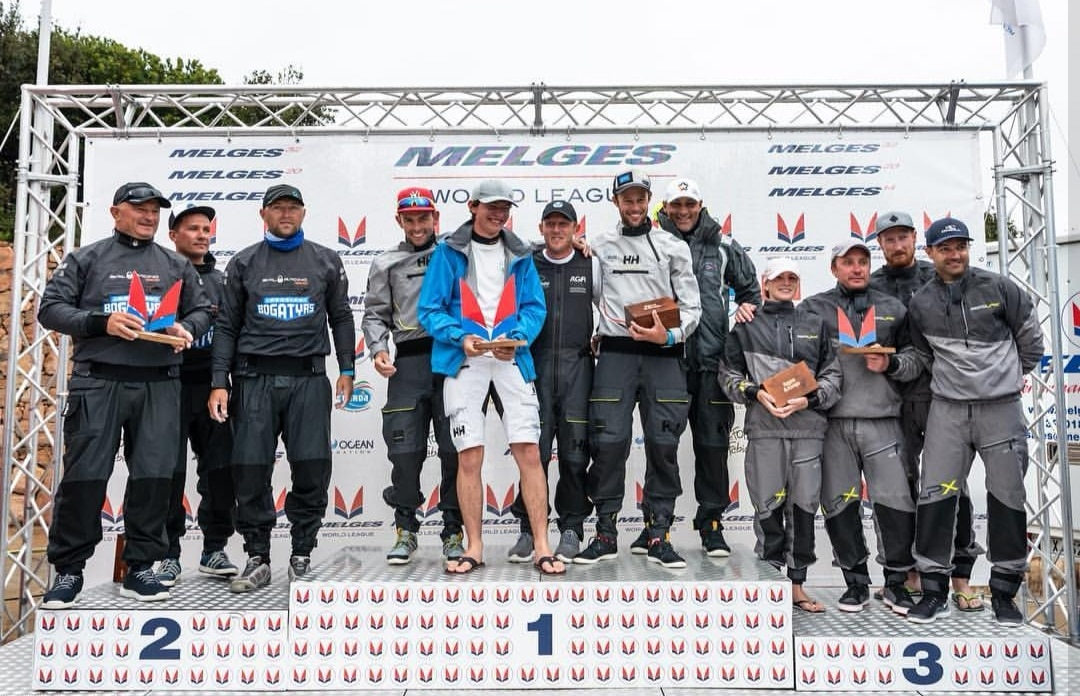 Premiazioni Melges World League a Puntaldia