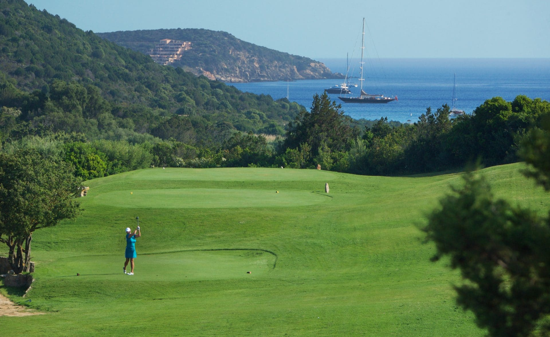 Costa Smeralda: perfect even for golf lovers!