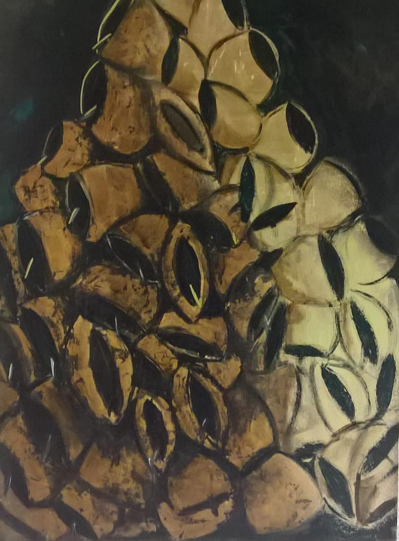 mamuthones-tree-roberto-tadini-painting-oil-canvas