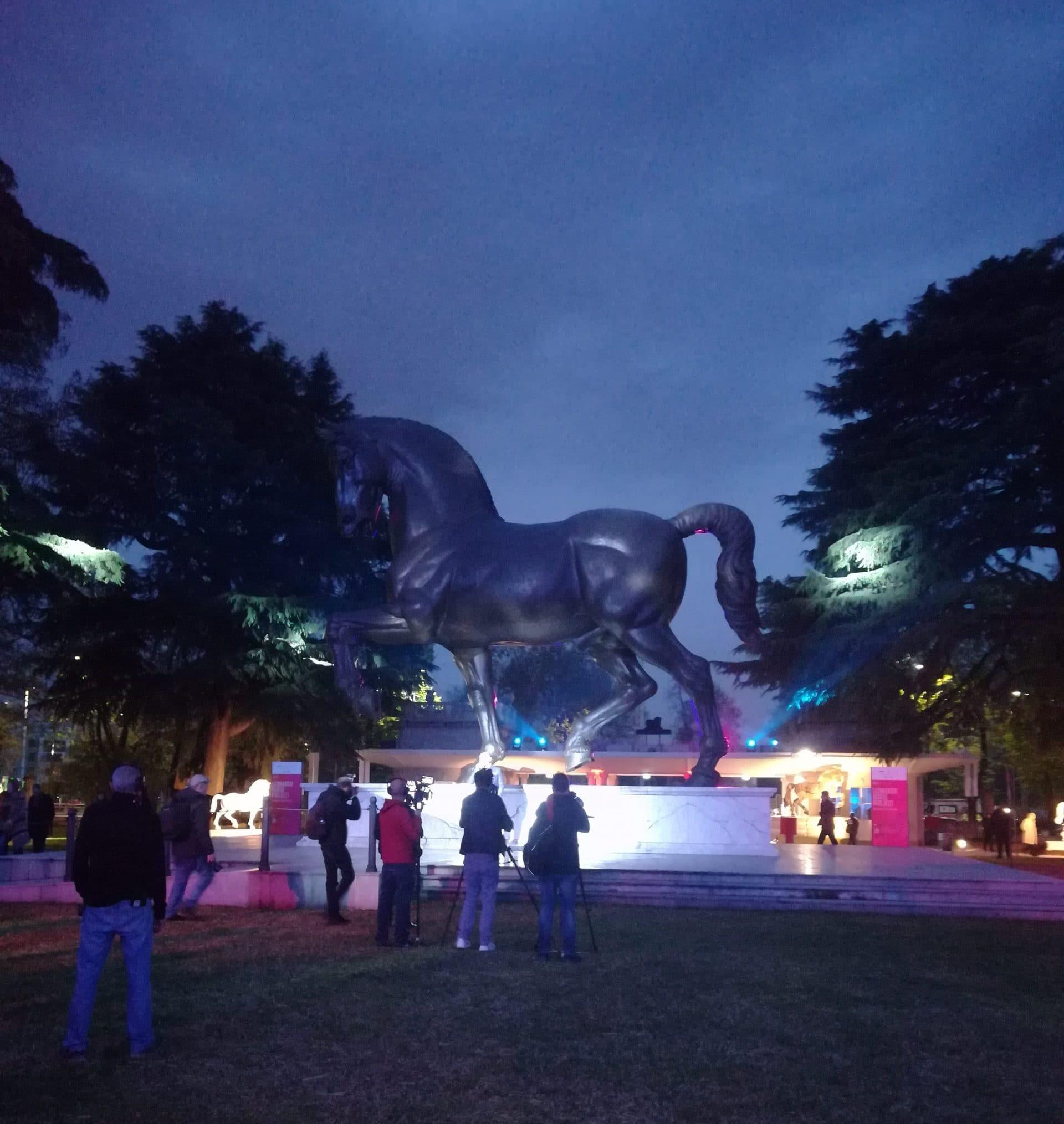 Leonardo Horse Project | Grand Opening