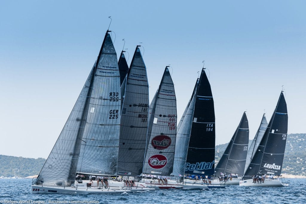 Melges World League 2019 a Puntaldia.