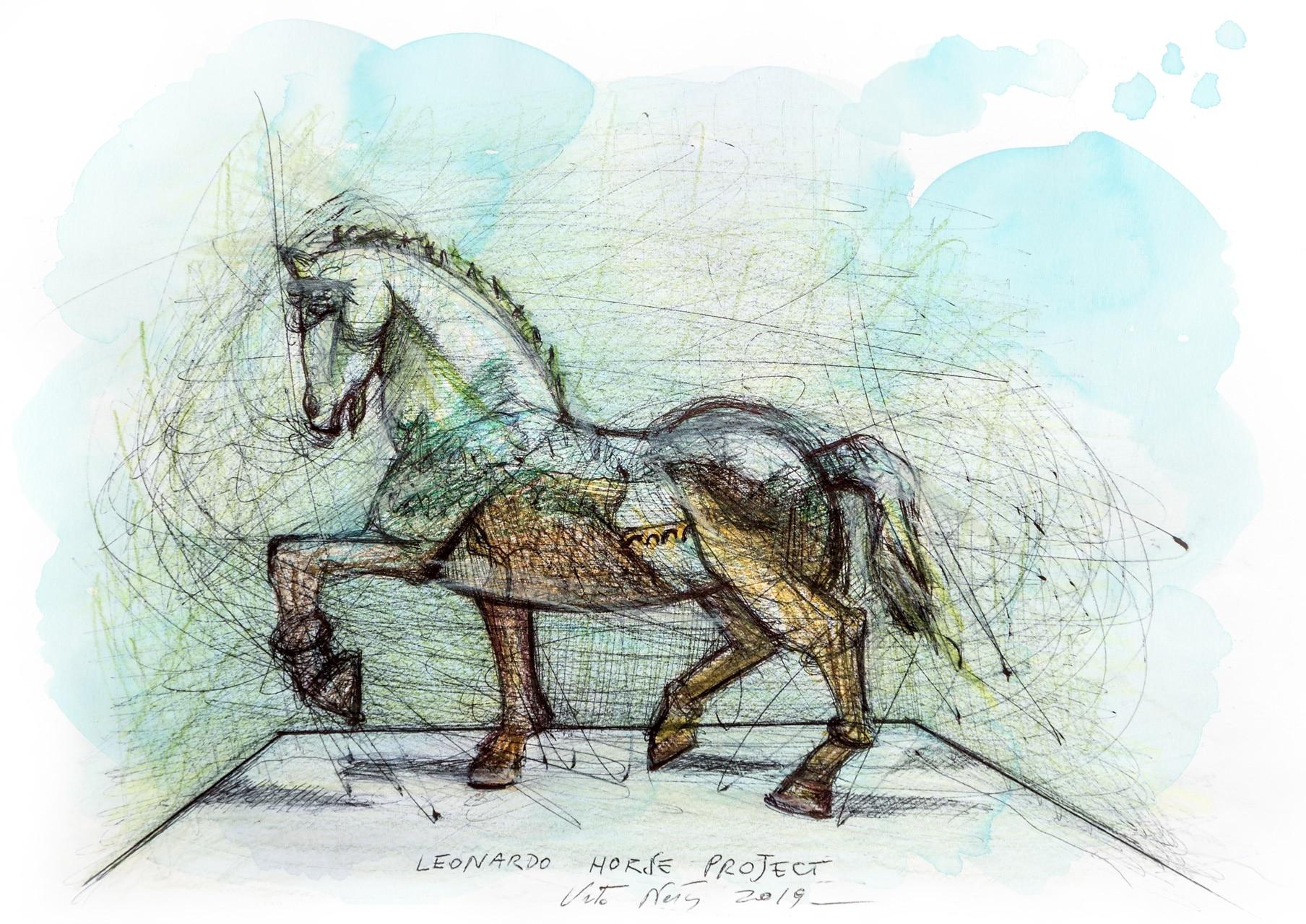 Leonardo Horse Project | Porto Cervo ospita il genio di Leonardo